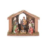 One Piece Nativity With Creche
