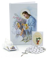 First Mass Book Vinyl Wallet Set, Good Shepherd Edition for Girls