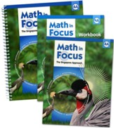 Math in Focus: The Singapore Approach Grade 4 First Semester Homeschool Package