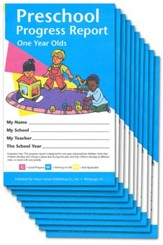 PreSchool Progress Reports, One Year Olds Pack of 10