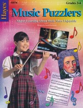 Music Puzzlers Book 2, Grades 3-4