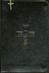 Weekday Missal, Volume 1, Bonded Leather, Black, Zipper