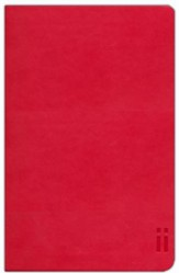 NIV Skinii Bible, Italian Duo-Tone, Red