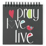 Pray, Love, Live Journal