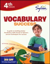 Fourth Grade Vocabulary Success (Sylvan Workbooks)