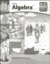 Answers and Notes for Key to Algebra Books 5-7