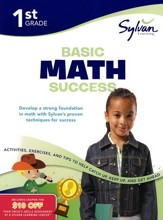 Basic Math Success Workbook: First Grade