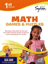 Math Games & Puzzles Workbook: First Grade