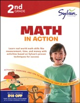 2nd Grade - Math in Action (Sylvan Workbooks)