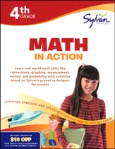 4th Grade - Math in Action (Sylvan Workbooks)