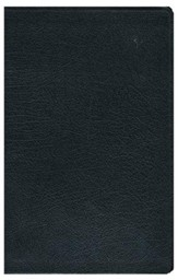 NIV Life Application Study Bible, Personal Size Indexed, Bonded Leather, Black