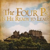 The Four P's: Is He Ready to Lead? Audio CD