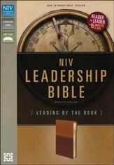 NIV Leadership Bible: Leading by The Book, Italian Duo-Tone
