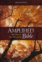 Amplified Cross-Reference Bible, Hardcover, Jacketed Printed