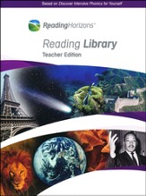 Reading Horizons Reading Library Teacher Edition (Home Use Only)