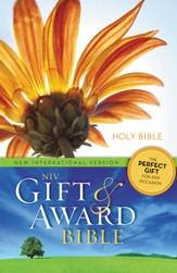 NIV Gift and Award Bible, Flower Design