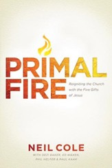 Primal Fire: Reigniting the Church with the Five Gifts of Jesus - eBook