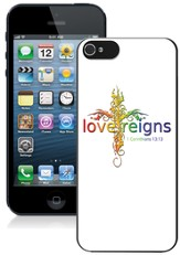 Love Reigns Cross iPhone 5 Case, Multi