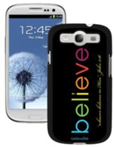 Believe Galaxy 3 Case, Black