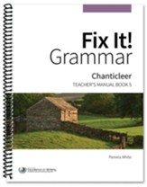 Fix It! Grammar Book 5: Chanticleer (Grades 9-12)