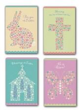 Easter Mosaics Boxed Cards  - Slightly Imperfect