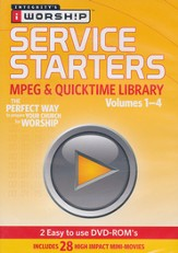 iWorship Service Starters MPEG and Quicktime Library