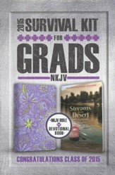 NKJV 2015 Survival Kit for Grads, Lilac   - Slightly Imperfect