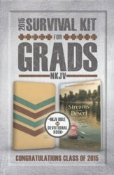 NKJV 2015 Survival Kit for Grads, Tan