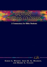 Galatians, Philippians, Colossians: A Commentary for Bible Students - eBook