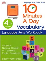 10 Minutes a Day: Vocabulary, Fourth Grade