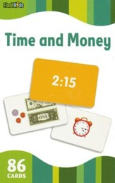 Time and Money, Flash Cards