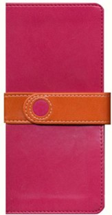 NIV Trimline Bible, Bright Pink/Orange Duo-Tone - Imperfectly Imprinted Bibles