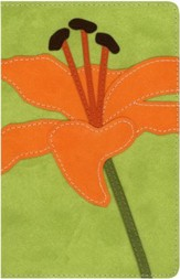 NIV Compact Thinline, Bloom Collection, Tiger Lily Duo-Tone