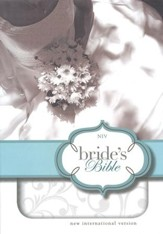 NIV Bride's Bible, Italian Duo-Tone, White  - Imperfectly Imprinted Bibles