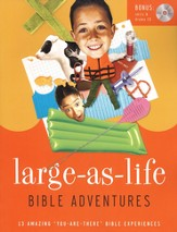 Large-As-Life Bible Adventures: Wild But Real: 13 Amazing You Are There Bible Experiences