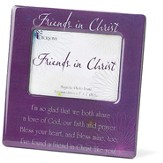 Friends in Christ Magnetic Photo Frame