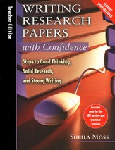 Writing Research Papers with Confidence, Teacher's  Guide