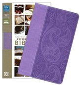 NIV Thinline Reference Bible, Lavender Duo-Tone