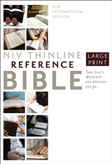 NIV Largeprint, Reference Bible - Slightly Imperfect