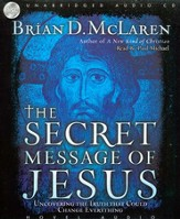 The Secret Message of Jesus - audiobook on CD
