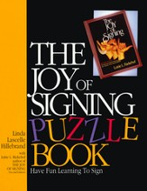 The Joy of Signing Puzzle Book