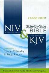 NIV/KJV Parallel Bible, Largeprint