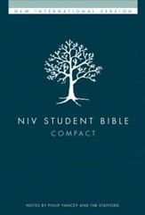 NIV Student Bible, Compact, Hardcover  - Slightly Imperfect