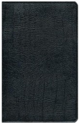 NIV Study Bible, Top Grain Leather, Black, Indexed  Slightly Imperfect