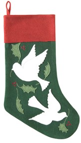 Christmas Stocking, Doves