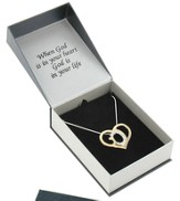 God's Heart Two-Tone Necklace