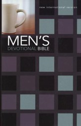 NIV Men's Devotional Bible, Hardcover, Black