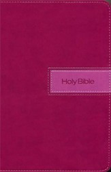 NIV Gift Bible, Razzleberry Duo-Tone - Imperfectly Imprinted Bibles