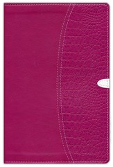 NIV Thinline Bible, Duo-Tone, Razzleberry