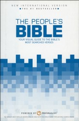 The NIV People's Bible: Your Visual Guide to the   Bible's Most-Searched Verses, Hardcover - Slightly Imperfect